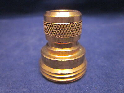 NELSON Brass Quick Connect Adapter Garden Hose MALE CONNECTOR ONLY 50335 VINTAGE