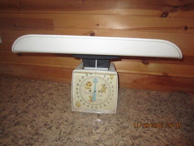 Vintage Sears Nursery Baby Infant 25 Lb. Scale