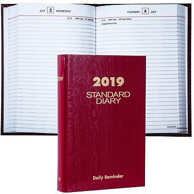 2019 At-A-Glance Standard Diary SD389 Daily Reminder, 5.75 x 8.25""