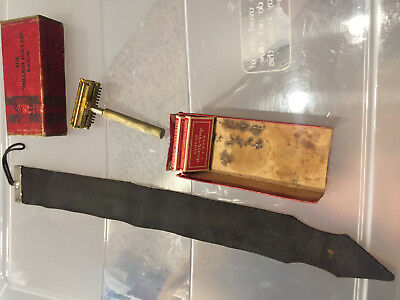 Vintage Valet Auto-Strop Razor as close to a straight razor shave as possible
