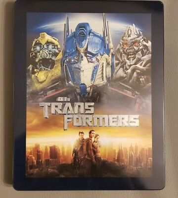 NEW Transformers Best Buy Exclusive Blu-Ray SteelBook with Digital Download