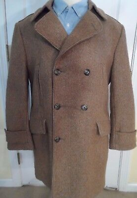Vintage 1970's Casualcraft Double Breasted Wool Blend Coat -- Mens 42 (Large)