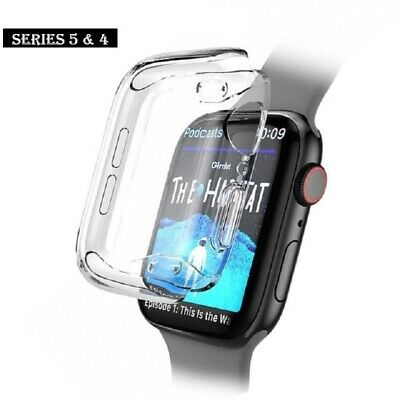Apple Watch 4 Screen Protector Cover Case soft clear and ultra thin 40mm / 44mm
