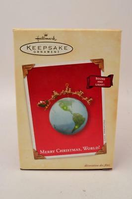 Hallmark Keepsake Ornament 2003 MERRY CHRISTMAS, WORLD! - #R-0-2