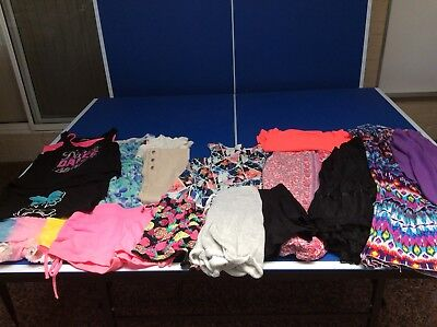 Girls Size 8 Bulk Summer Clothes-  Billabong, Material Girl, Peter Morrisey