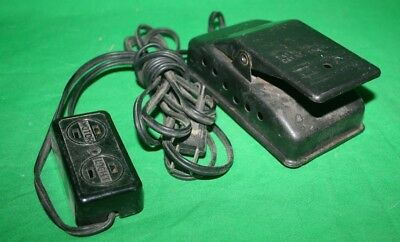 Mercury Electric Speed Control 229D Sewing Machine Foot Pedal Controller 704 705
