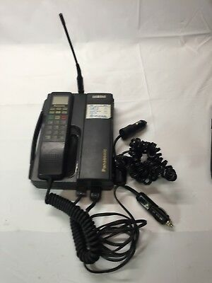 PANASONIC EB-2501A Transceiver Unit Mobile Telephone Phone W/ Charger