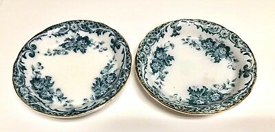 Alfred Meakin Royal Semi Porcelain Lot Of 2 Butter Pats Glenmere 3.25""
