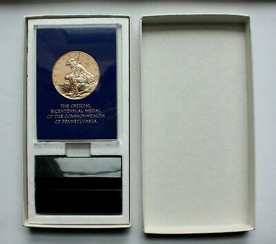 Franklin Mint Bicentennial of the Commonwealth of Pennsylvania Proof Medal