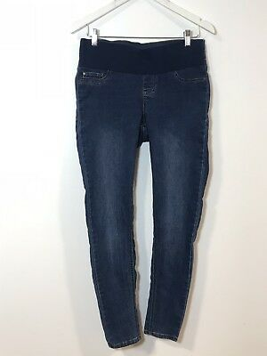 BUB2B comfort Womens MATERNITY Stretch Denim Jeans Size 10 in great condition