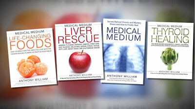 Medical Medium + Foods + Thyroid + Liver Rescue - Anthony Willian 4 E-B00K, PDF