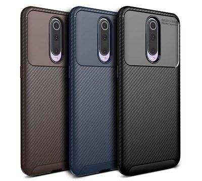 For Oppo R17 Pro Matte Frosted Protective TPU Back Cover Carbon Fiber Case SYD