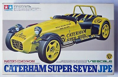 TAMIYA 1/12 Caterham Super Seven JPE Master's Coachwork #10203 scale model kit