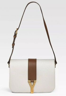 b907d81261c NWT Authentic YSL Yves Saint Laurent Chyc Y Flap Ligne Sac De Jour Bag RARE  NEW
