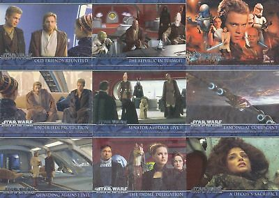 Star Wars Attack of the Clones - Complete Card Set (100) - NM