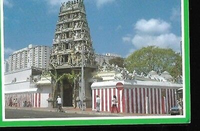 "Vintage Post Card:"" Singapore Oldest Hindu Temple"" Posted To Darwen Lancs 1999"