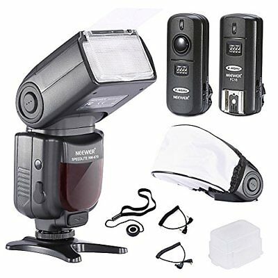 Nw-670 Ttl Flash Speedlite With Lcd Display Kit For Canon Dslr Cameras,includes:
