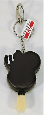 Disney Parks Exclusive Ice Cream Bar Mickey Mouse Ears Icon Keychain NEW CUTE