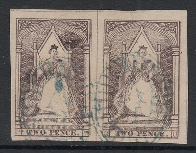 Victoria   Queen on the Throne used pair   P-T and Q-U     positions 15 & 16