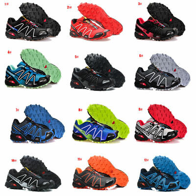 Athletic Men's Sports Salomon Speedcross Running Hiking 3 Casual Shoes Sneakers