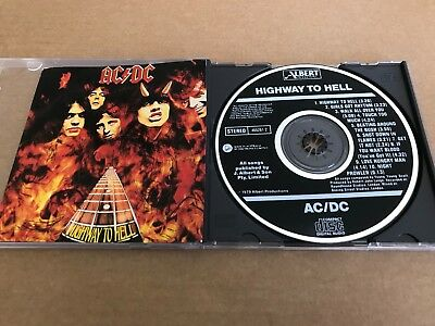 "AC/DC / ""HIGHWAY TO HELL""  Albert 465261 2 Rare  CD"
