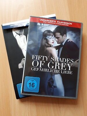 Fifty Shades Of Grey DVDs 1+2