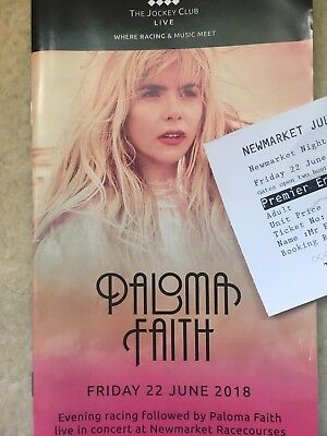 Paloma Faith Tour Programme & Ticket