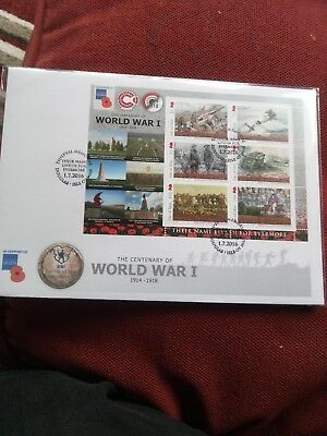 Isle Of Man World War 1 Stamp Cover