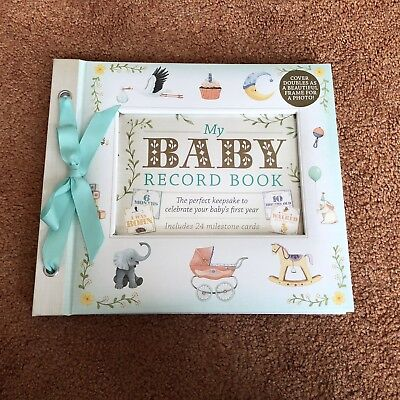 My First Year Baby Record Book