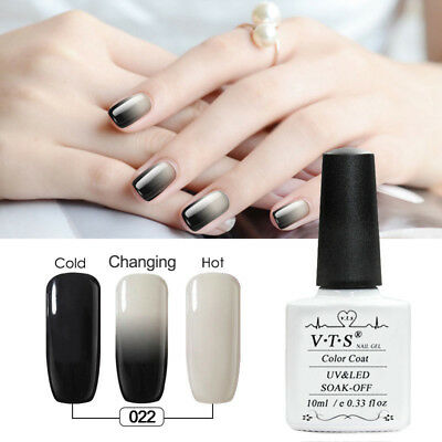 vts Mood Changing Gel Nail Polish Set Multi Colors Nail Varnish 10ml Soak-off