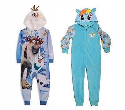 Disney`s Frozen 0r My Little Pony All in one Sleepsuit Onesy Romper Suit MLP New