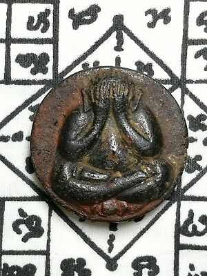Thai Amulet Buddha Monk Phra LP PIDTA Holy Powerful Magic Talisman Miracle Lucky