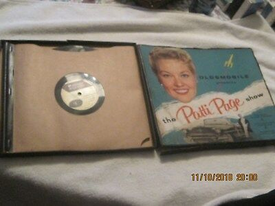 Used 1950S Oldsmobile Patti Page Record Promotonial