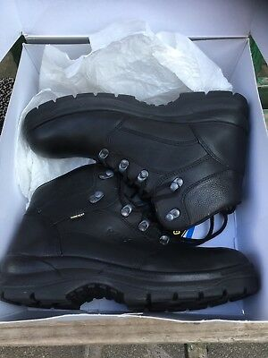 Haix Goretex Special Force Mid Safety Workboots Size 4.5 Euro 37