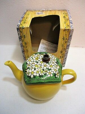 """Cardew Design Extra Fine Teapots """"Brown Betty"""" Teddy Bears Picnic New No 0395"""