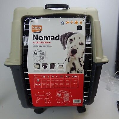 Pet Dog Small Animals Carrier Cage Transport Box Basket Nomad NEW HAD REPAIR