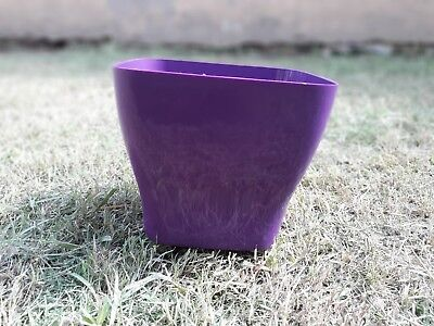 Meshpot 5 Inch Plastic Clear Orchid Pot With Holes Orchid Planter
