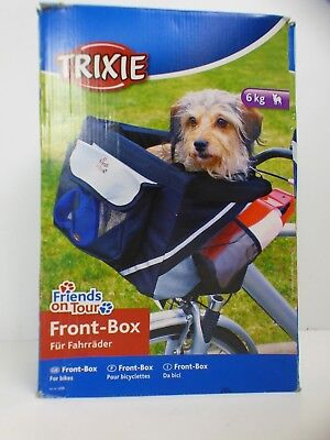 Trixie Front-box Basic For Bicycles, 38 × 25 × 25 Cm, Black/ Grey USED ONCE