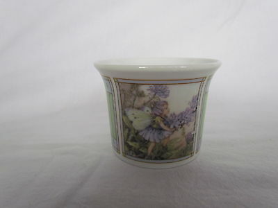 Royal Worcester Flower Fairies Votive Candle Holder - Cicely Mary Baker 1998