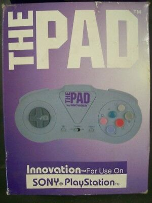 PS1 One Controller Joypad Sony PSX Playstation Turbo Fire Innovation The Pad