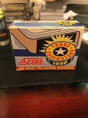 1990 Score Young Superstars NHL 40 Card Set Nice