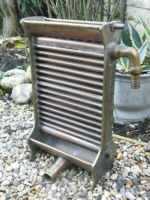 Antique Dairy Outfit milk Cooler, Copper & Brass. Kings Cross London.