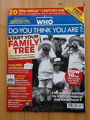 Bbc Who Do You Think You Are? 142 - Start Your Family Tree