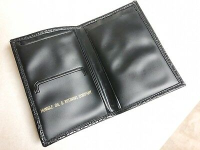 Humble Oil & Gas Company Bi-fold Wallet, Petroleum Service Station Advertising
