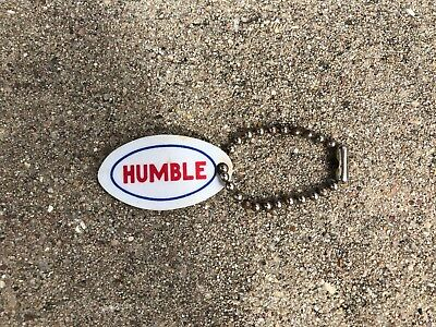 Humble ESSO EXTRA Oil & Gas Key Chain, Advertising Holder Ring, Keychain Keyring