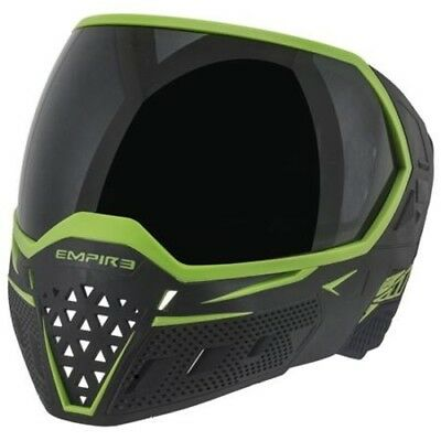 Paintball Maske Empire EVS Goggle - Black / Lime Thermal Clear