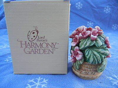 "Lord Byron's Harmony Garden ""Begonia"" 1998 Mint never displayed"