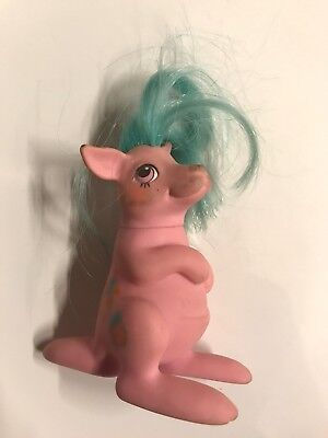 Vintage G1 My Little Pony Baby Pockets Hoppy Kangaroo Kanguruh