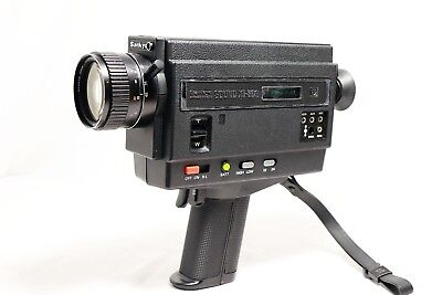 Battery Tested Running Sankyo Sound Xl-60S Super 8 Movie Camera