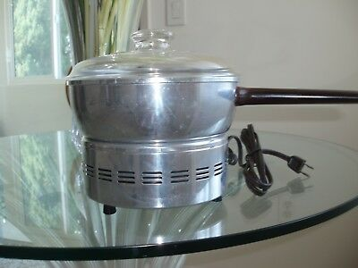 West Bend Aluminum Popcorn  Popper #3285 Vintage Electric -  Usa